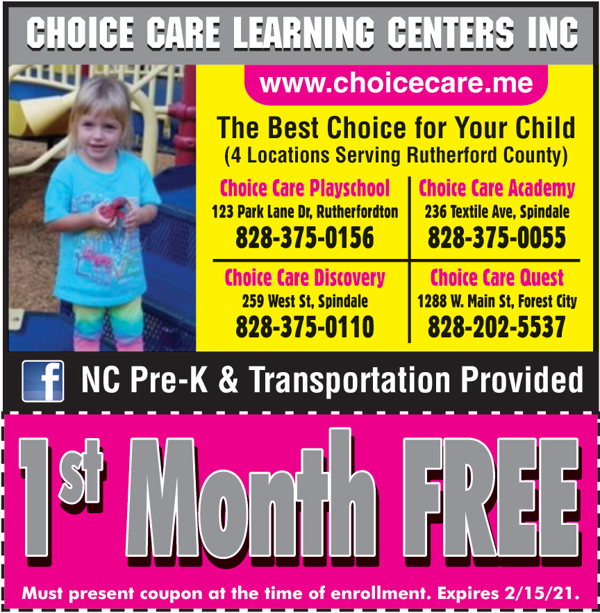 CHOICE CARE LEARNING