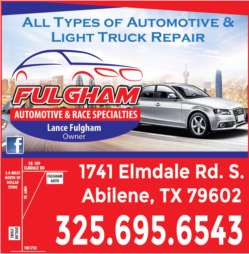 FULGHAM AUTOMOTIVE