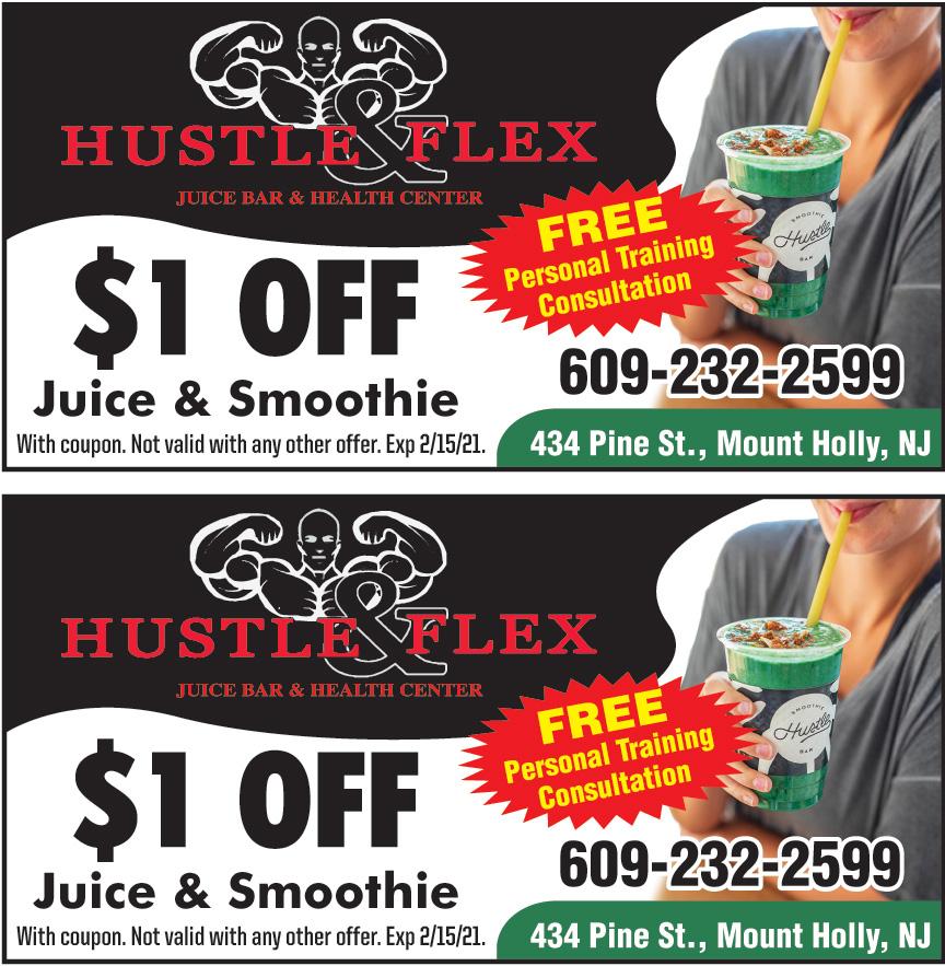 HUSTLE AND FLEX JUICE BAR