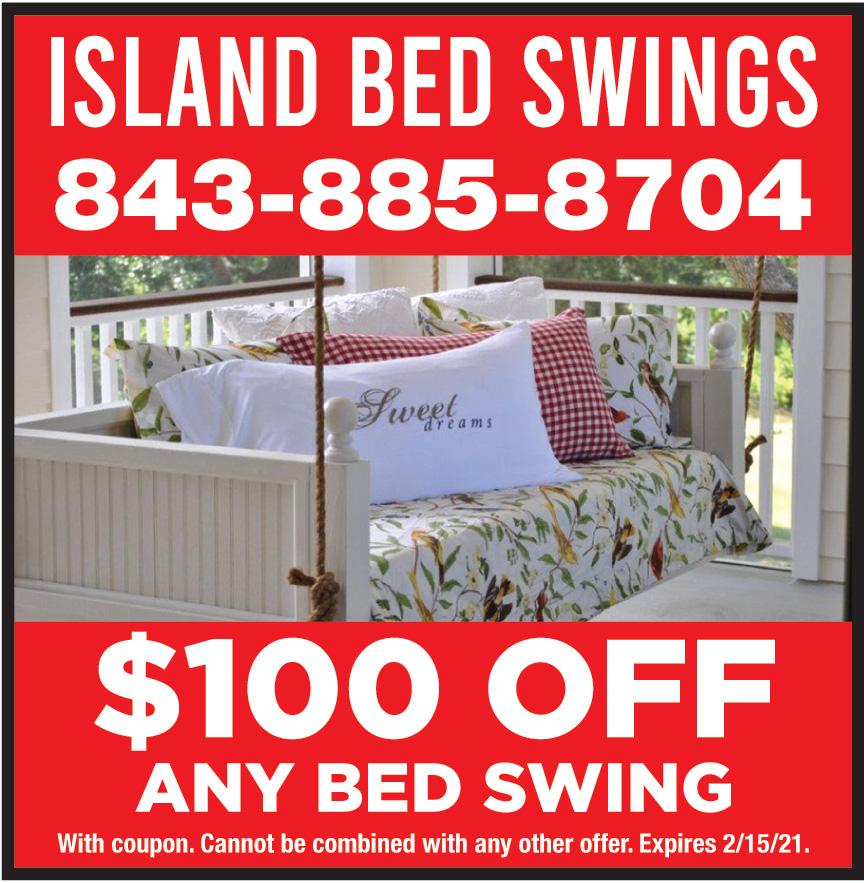 ISLAND BED SWINGS