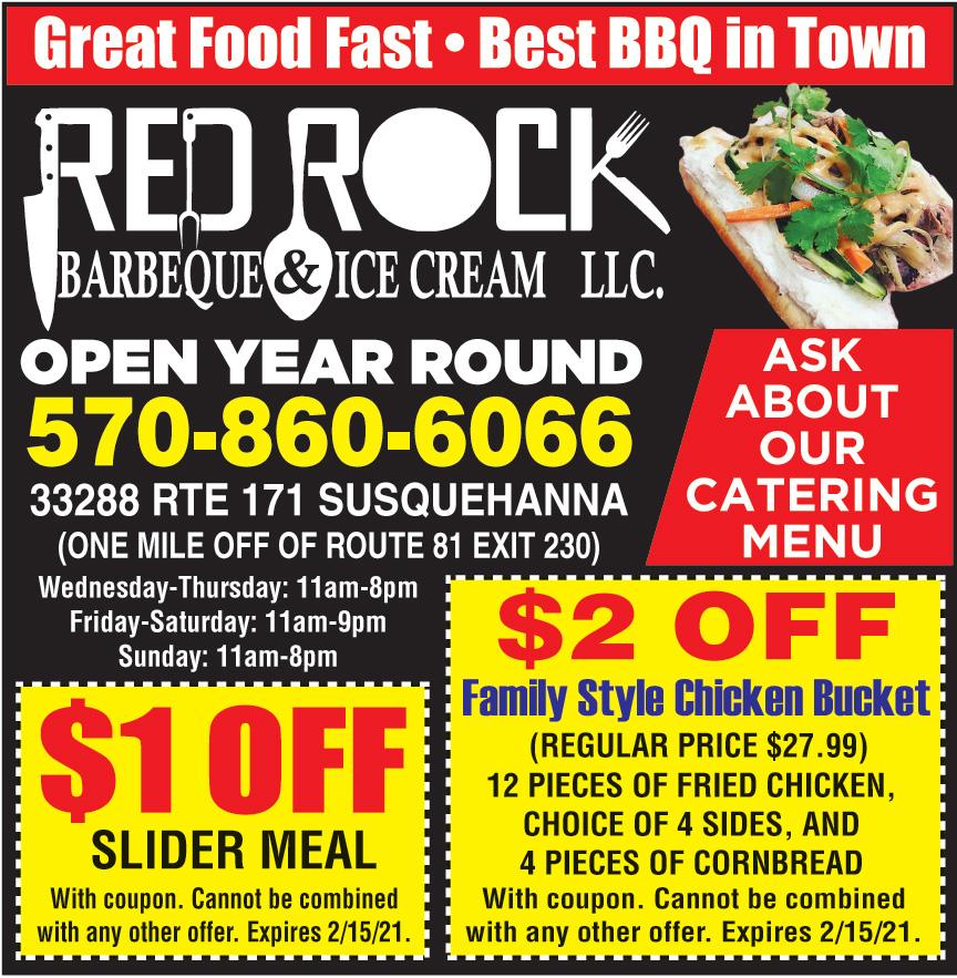 RED ROCK BBQ