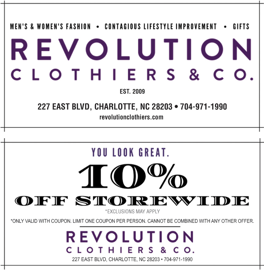 REVOLUTION CLOTHIERS AND