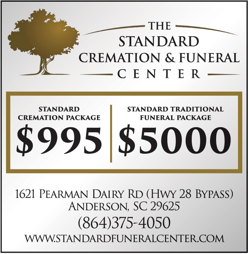 THE STANDARD CREMATION