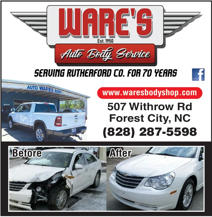 WARES AUTO BODY SERVICE