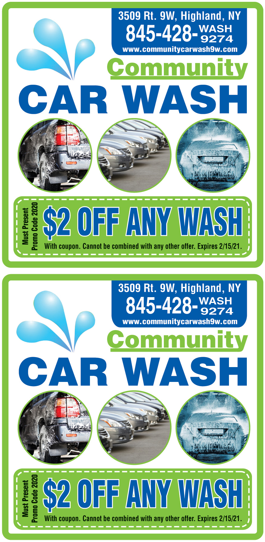 $2 OFF ON ANY WASH | Online Printable Coupons: USA Local ...