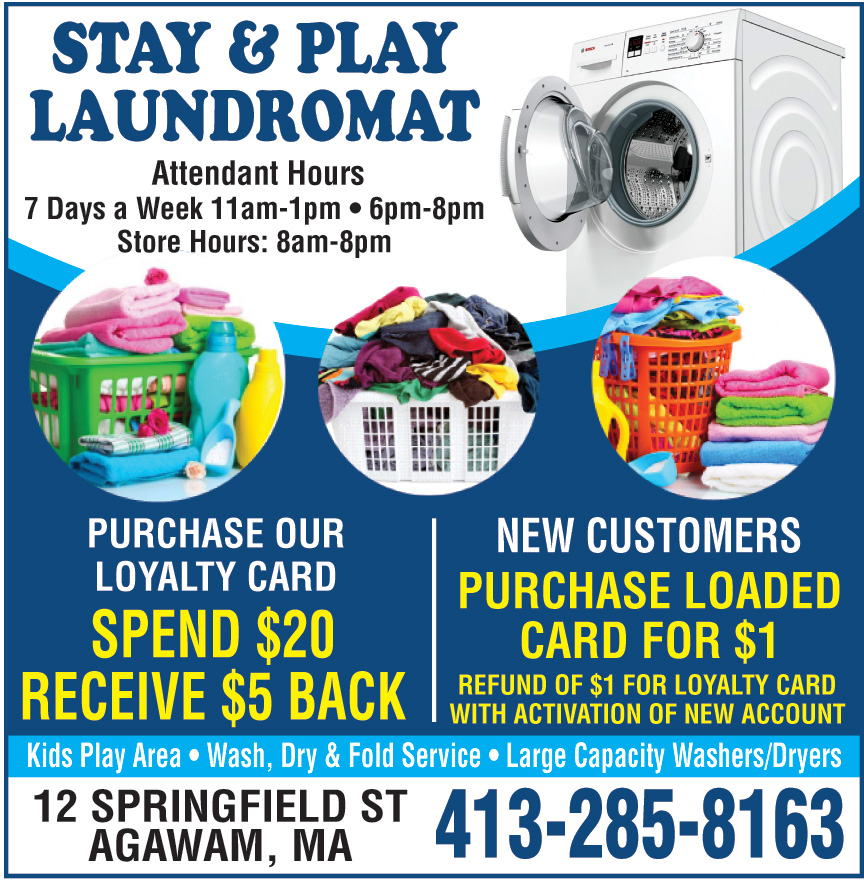STAY AND PLAY LAUNDROMAT