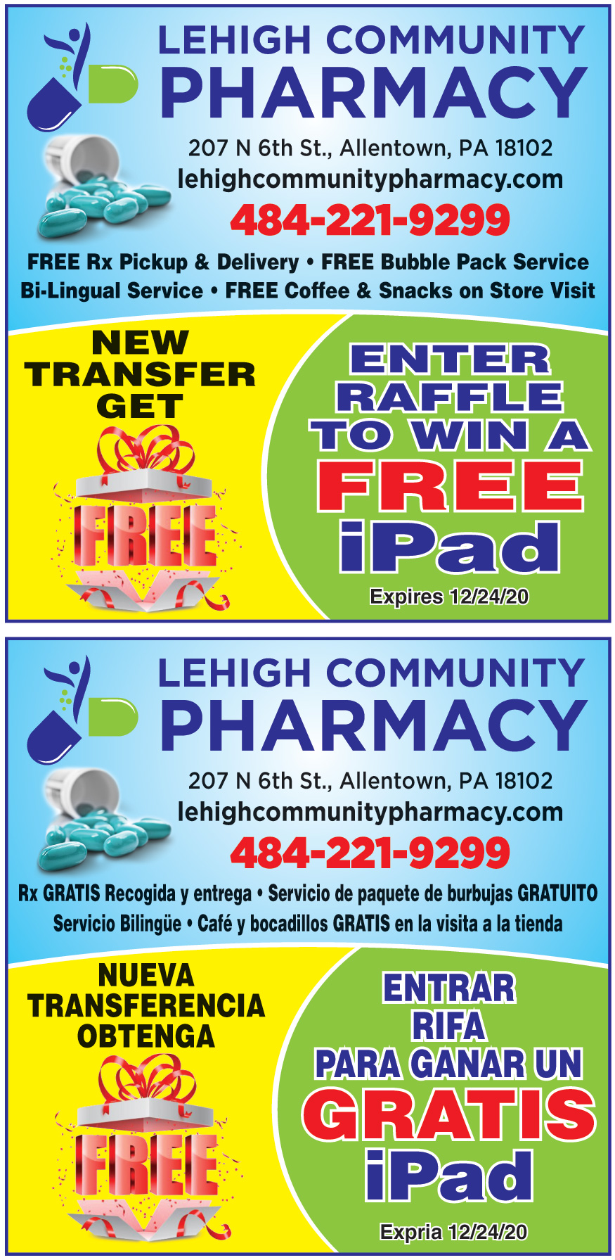 BETHLEHEM PHARMACY RX INC