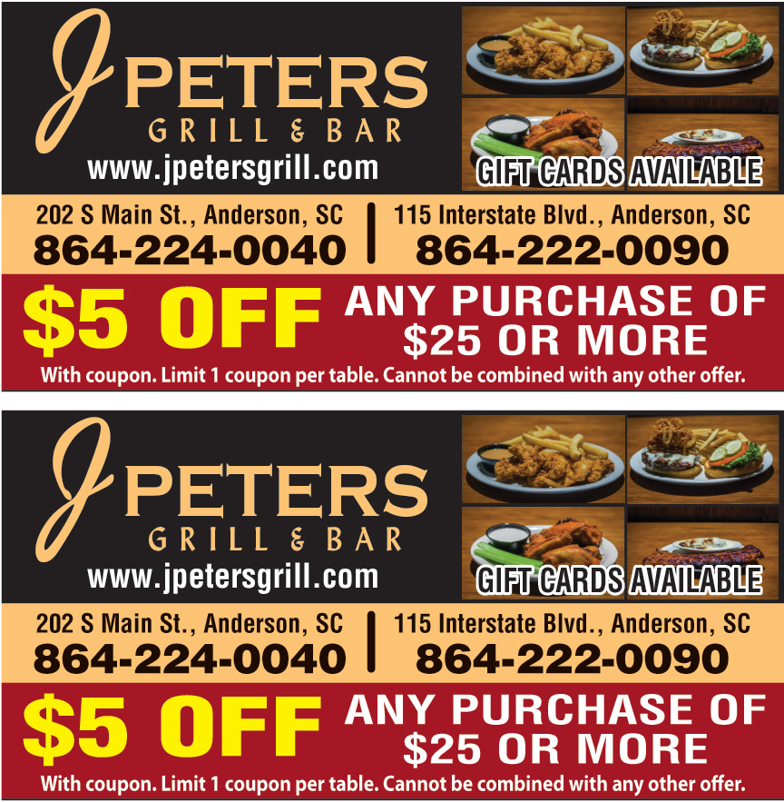 J PETERS BAR AND GRILL