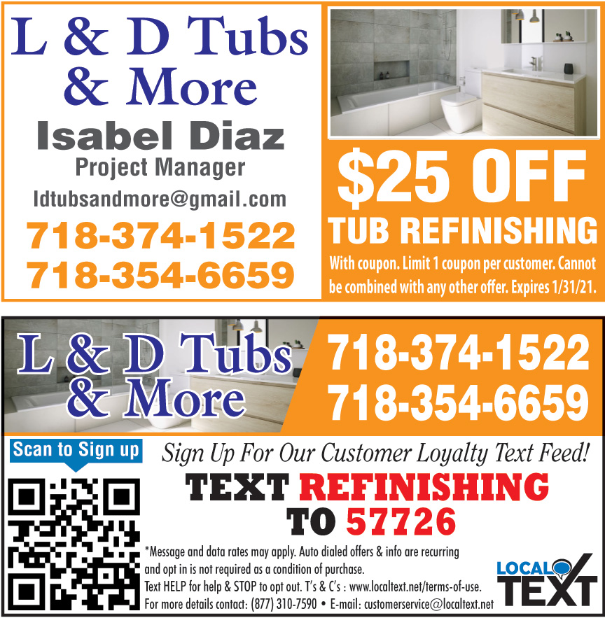 L AND D TUBS AND MORE