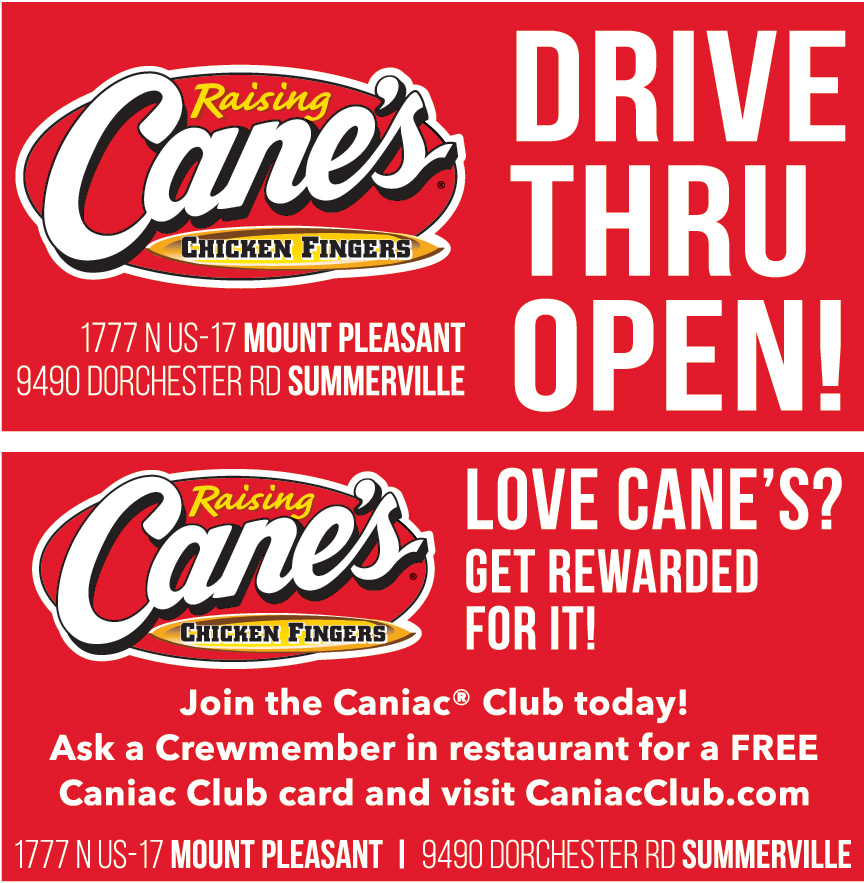 RAISING CANES CHICKEN