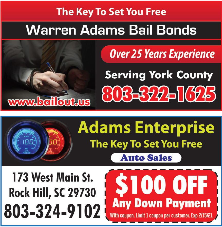 WARREN ADAMS BAIL BONDS