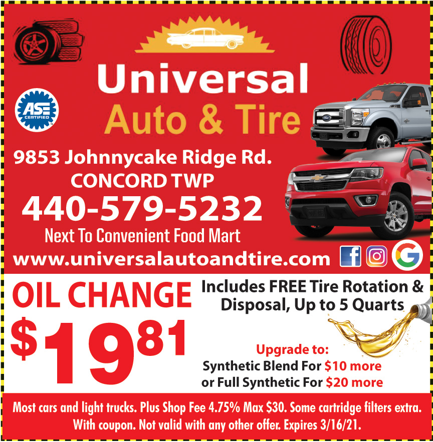UNIVERSAL AUTO AND TIRE
