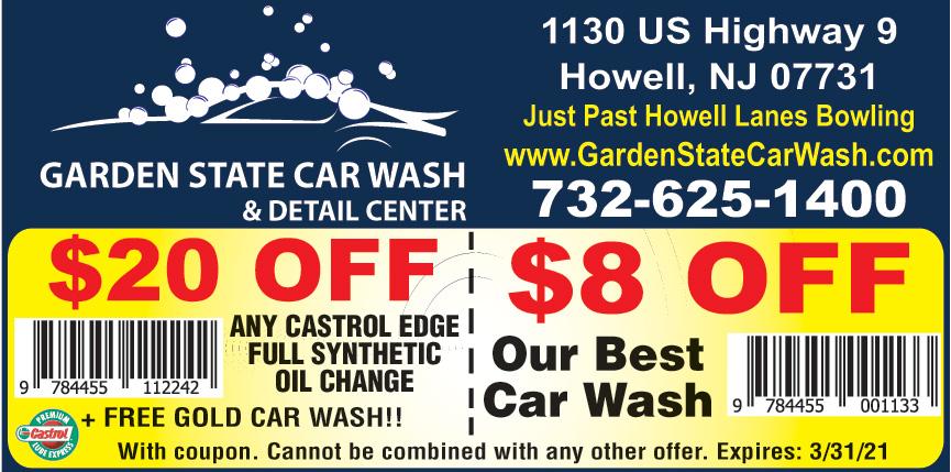 GARDEN STATE CAR WASH
