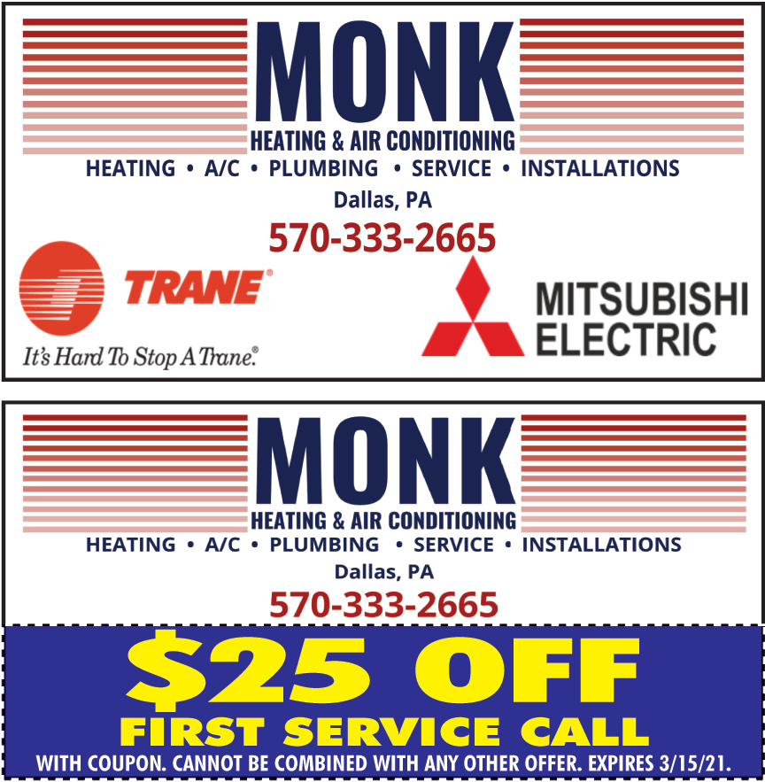 MONK HEATING AND AIR COND