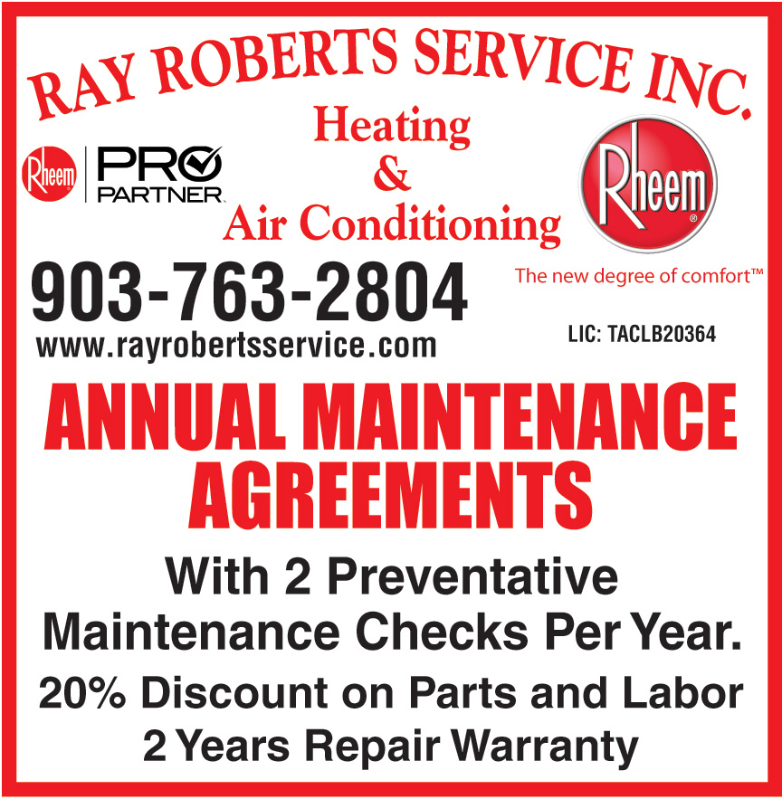 RAY ROBERTS SERVICE INC