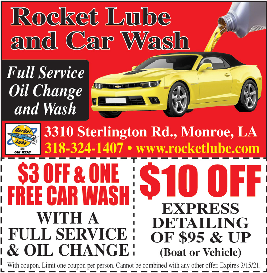 ROCKET LUBE AND CAR WASH