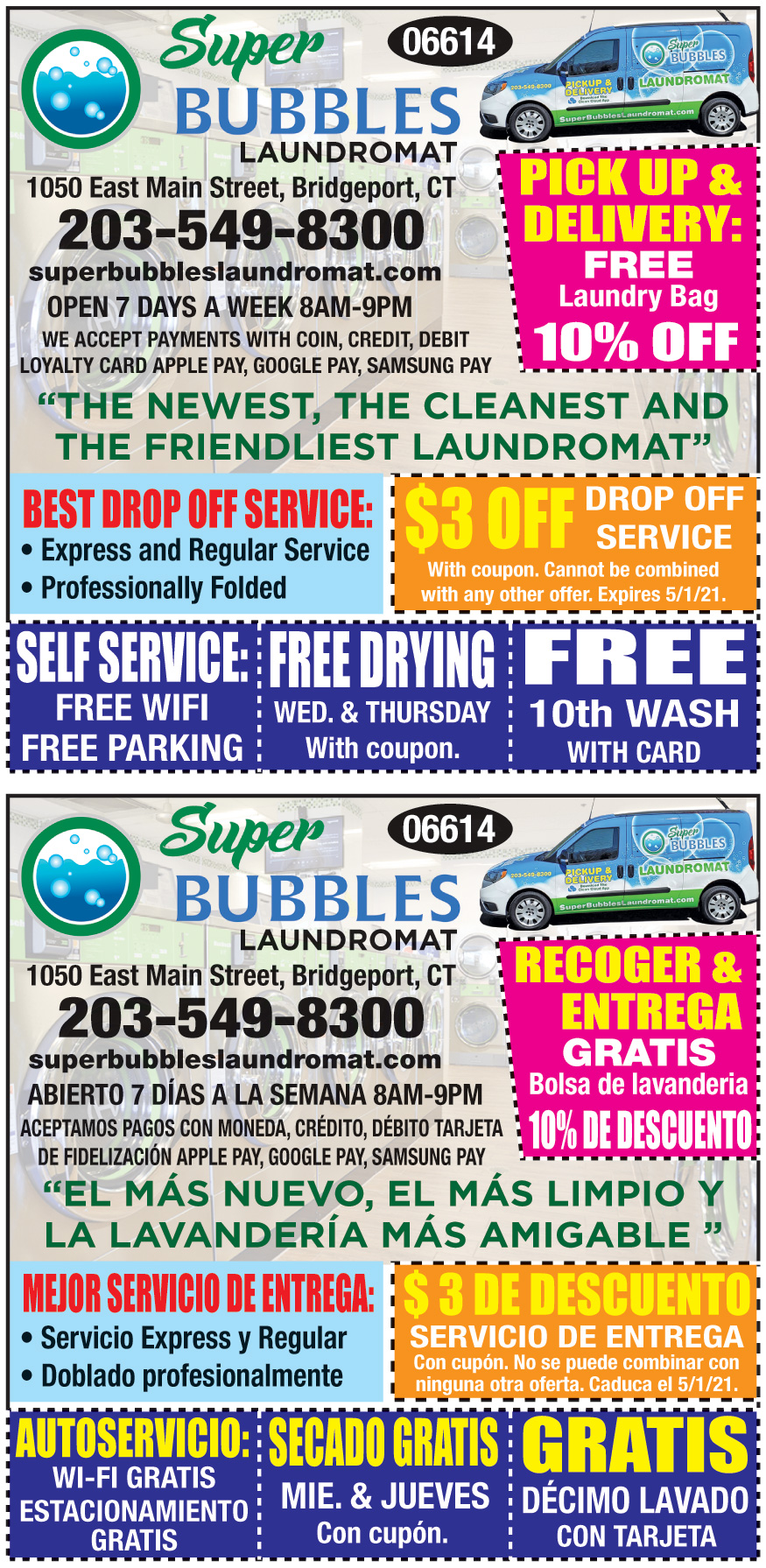 SUPER BUBBLES LAUNDROMAT