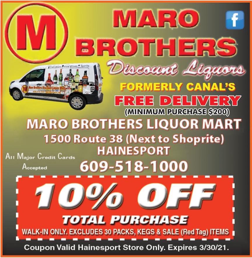 MARO BROTHERS LIQUOR MART