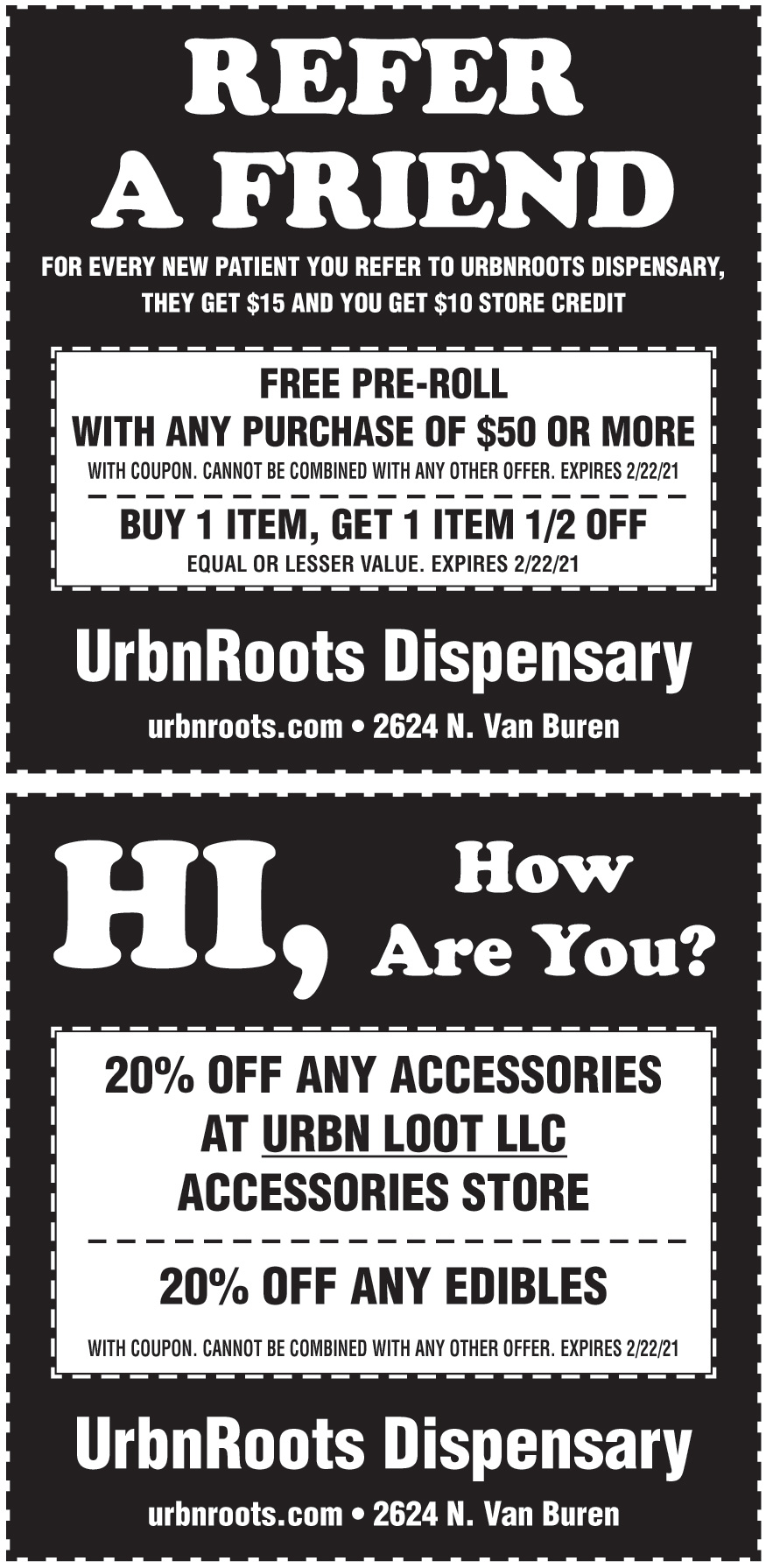 URBN ROOTS DISPENSARY