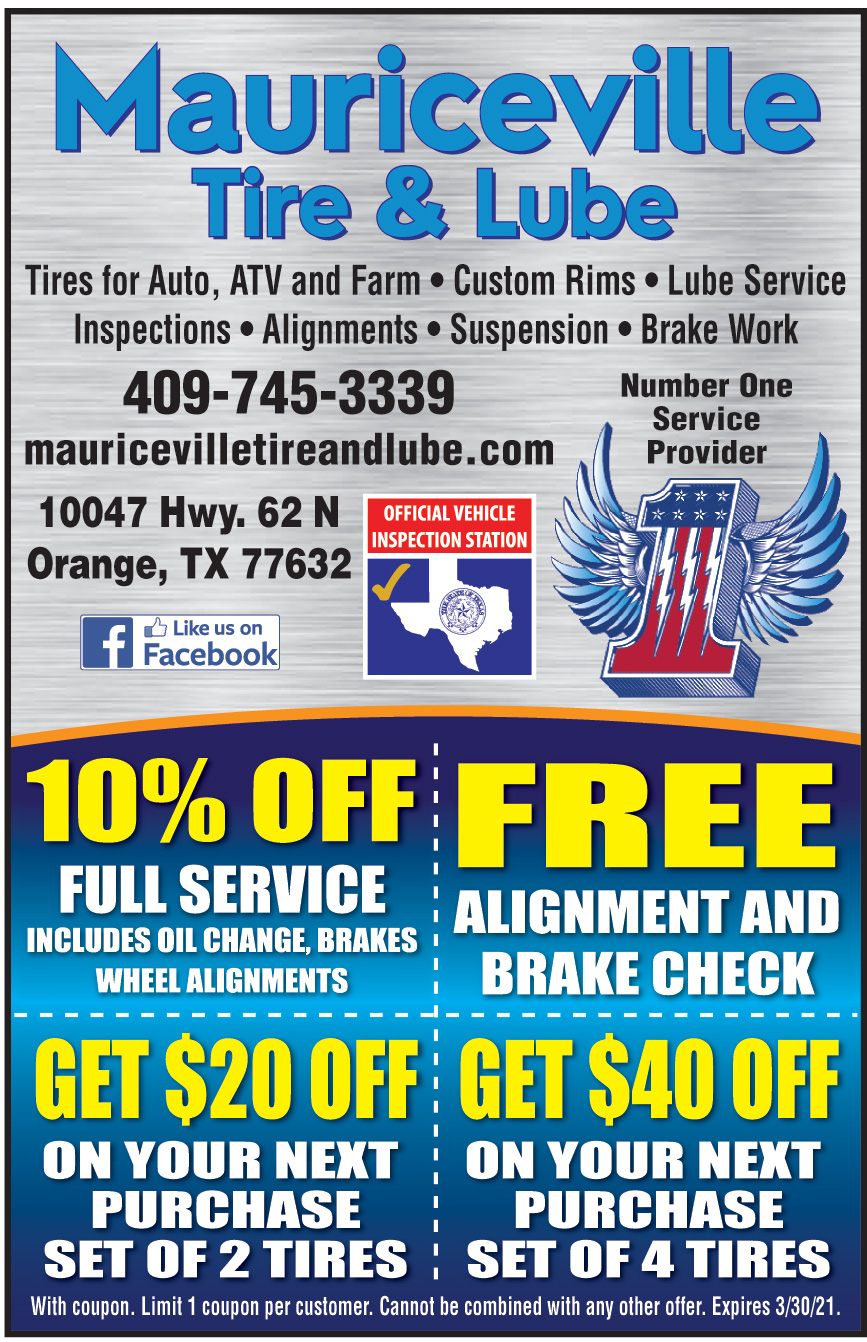MAURICEVILLE TIRE AND LUB