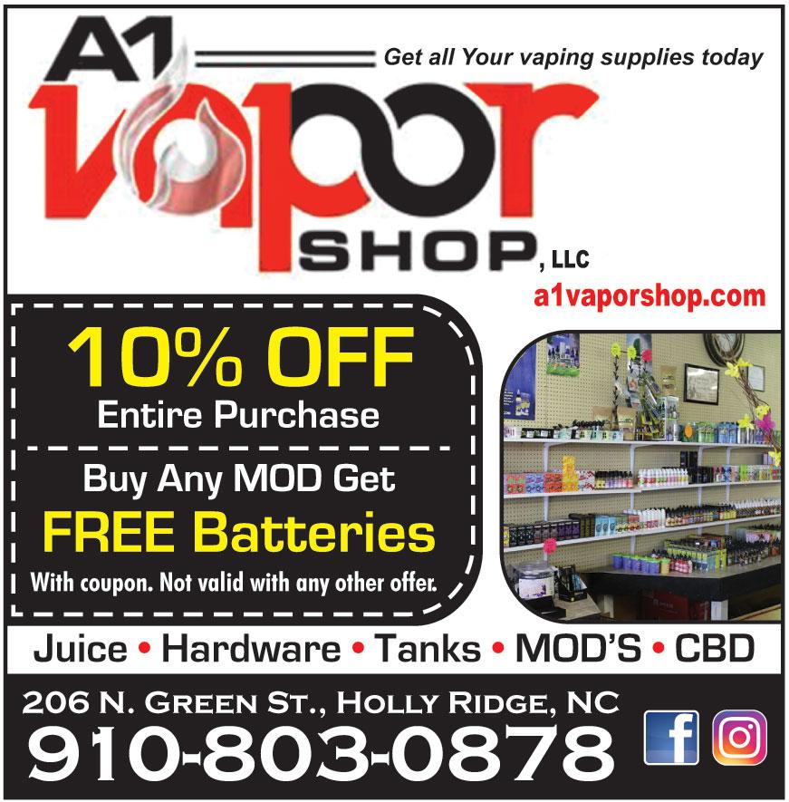 A1 VAPOR SHOP LLC