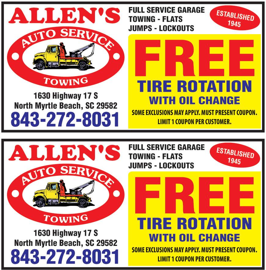ALLENS AUTO SERVICES
