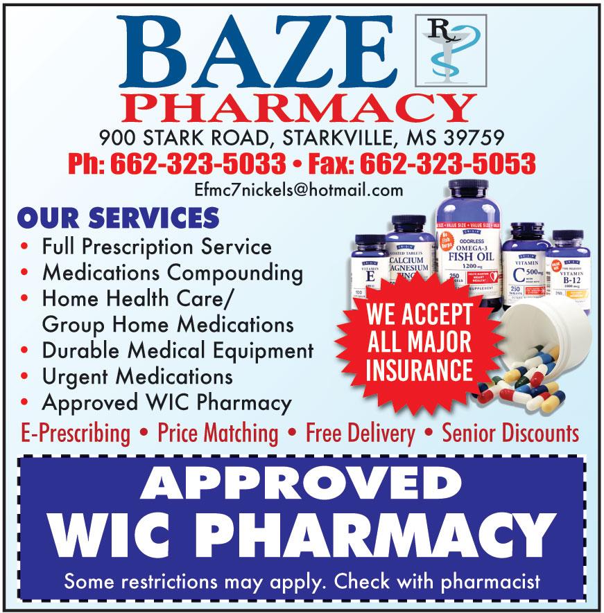 BAZE PHARMACY LLC