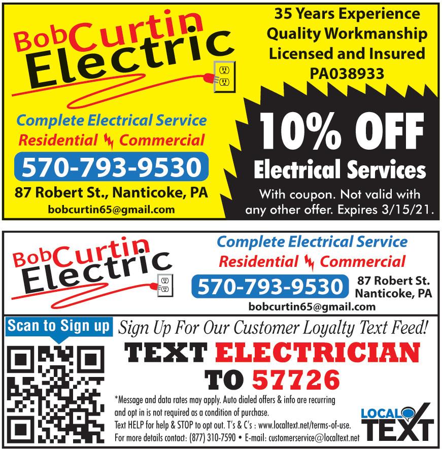 BOB CURTIN ELECTRIC