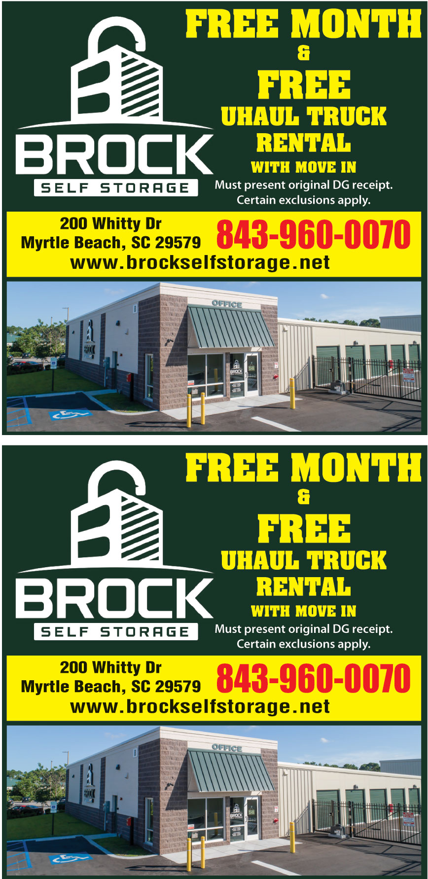 BROCK SELF STORAGE LLC