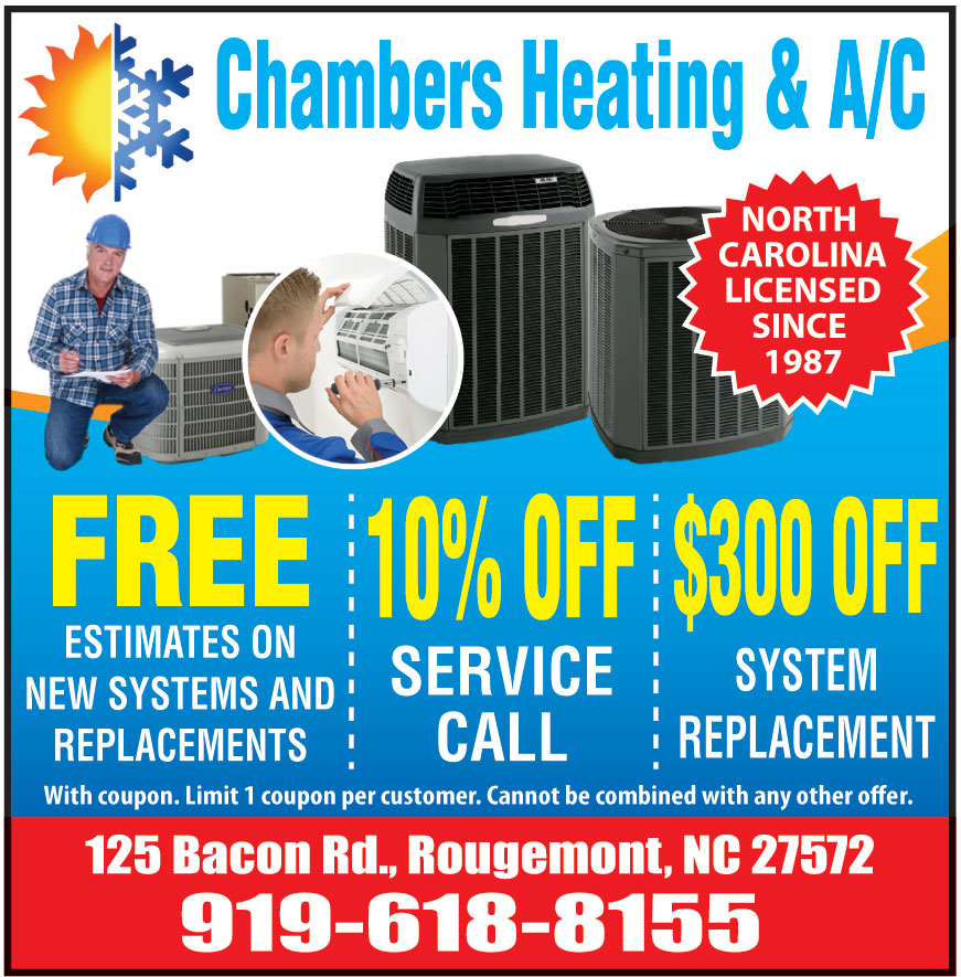CHAMBERS HEATING AND AC