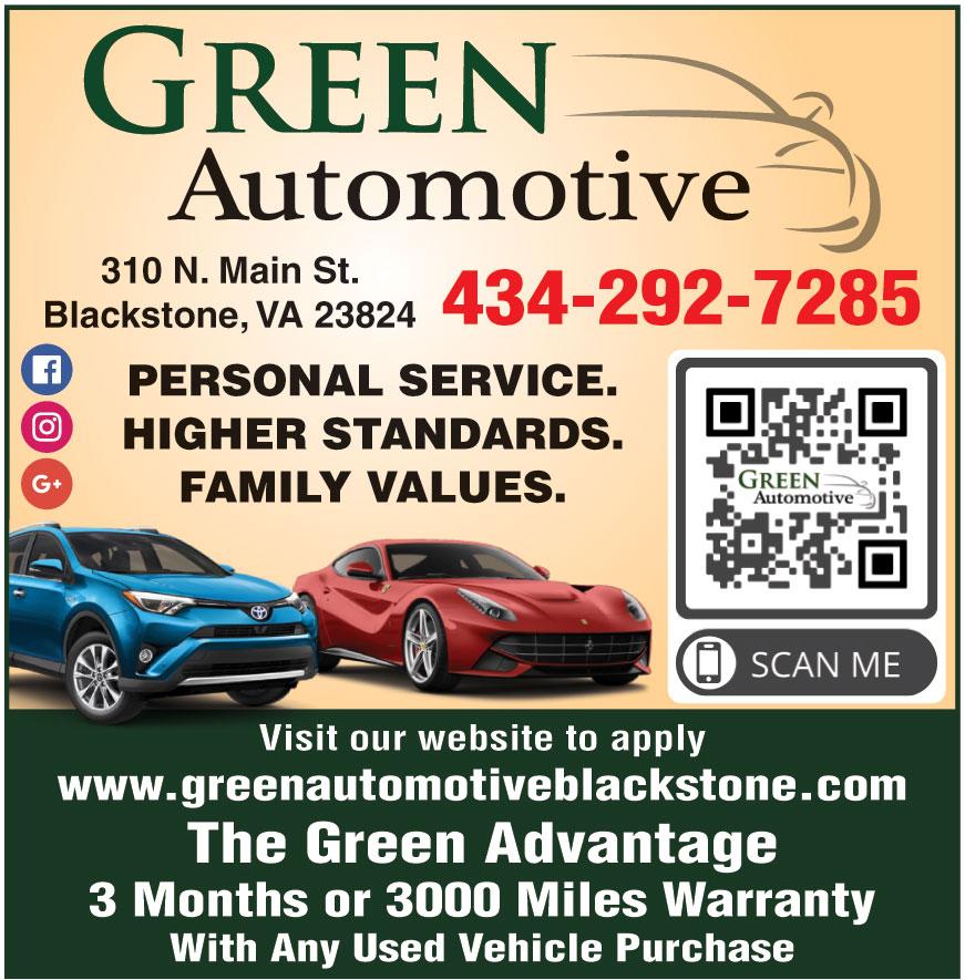 GREEN AUTOMOTIVE