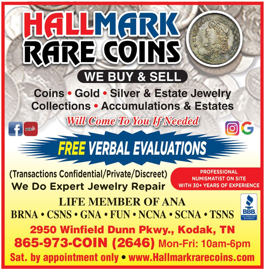 HALLMARK RARE COINS