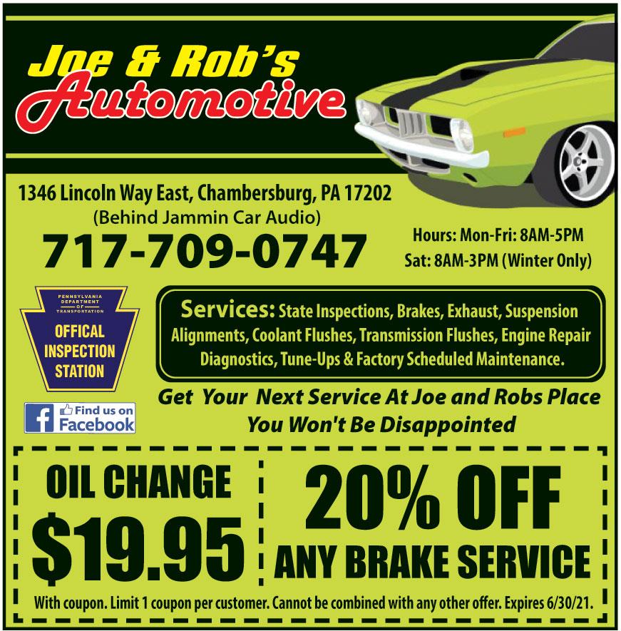 JOE AND ROBS AUTOMOTIVE