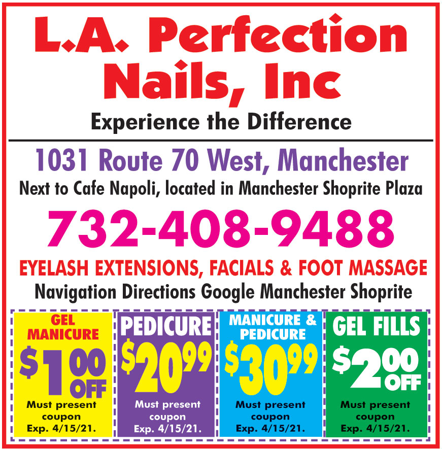 L A PERFECTION NAILS INC