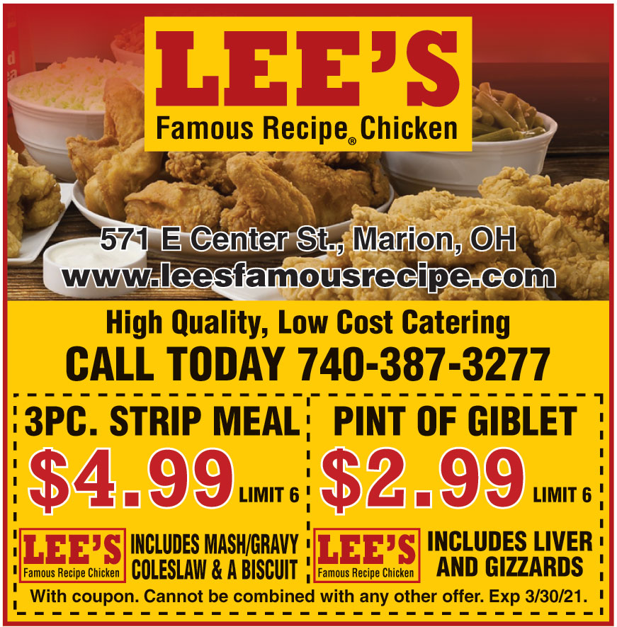 LEES FAMOUS CHICKEN