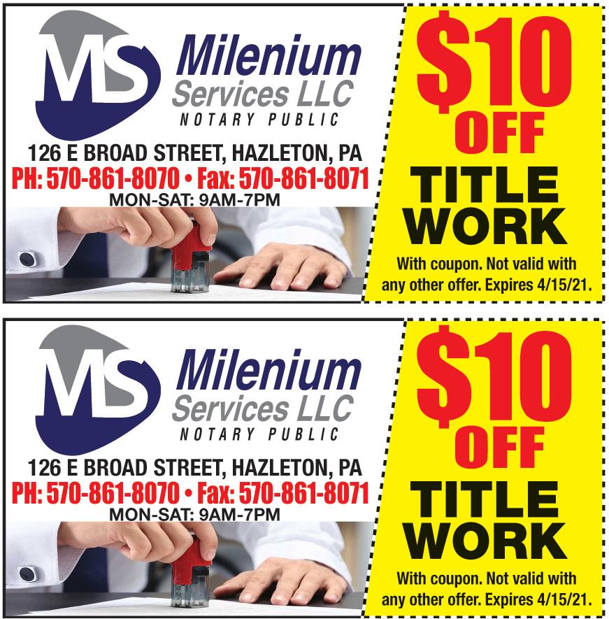 MILENIUM SERVICES LLC