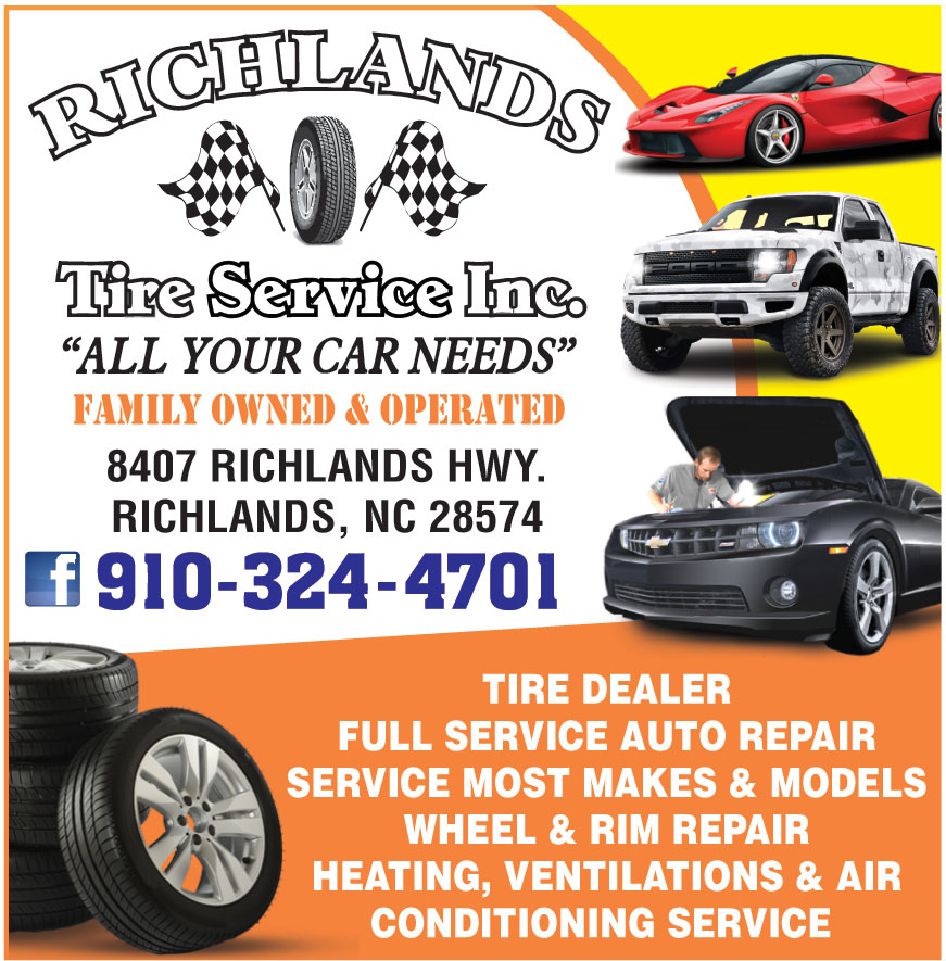 RICHLANDS TIRE SERVICE