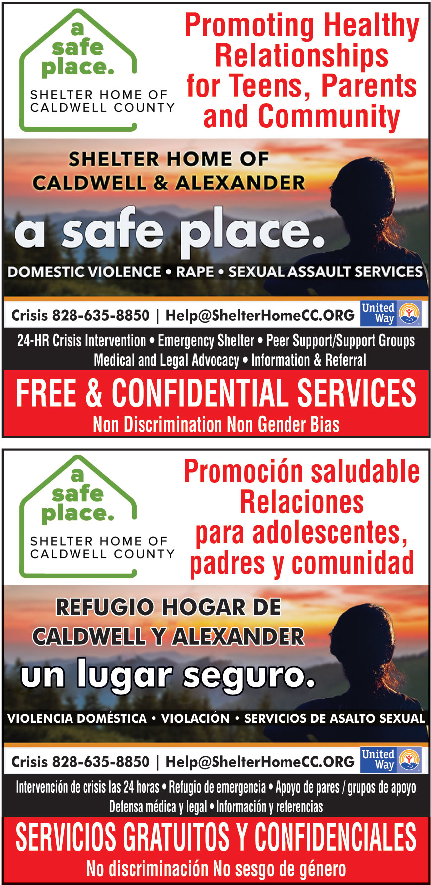 SHELTER HOME OF CALDWELL