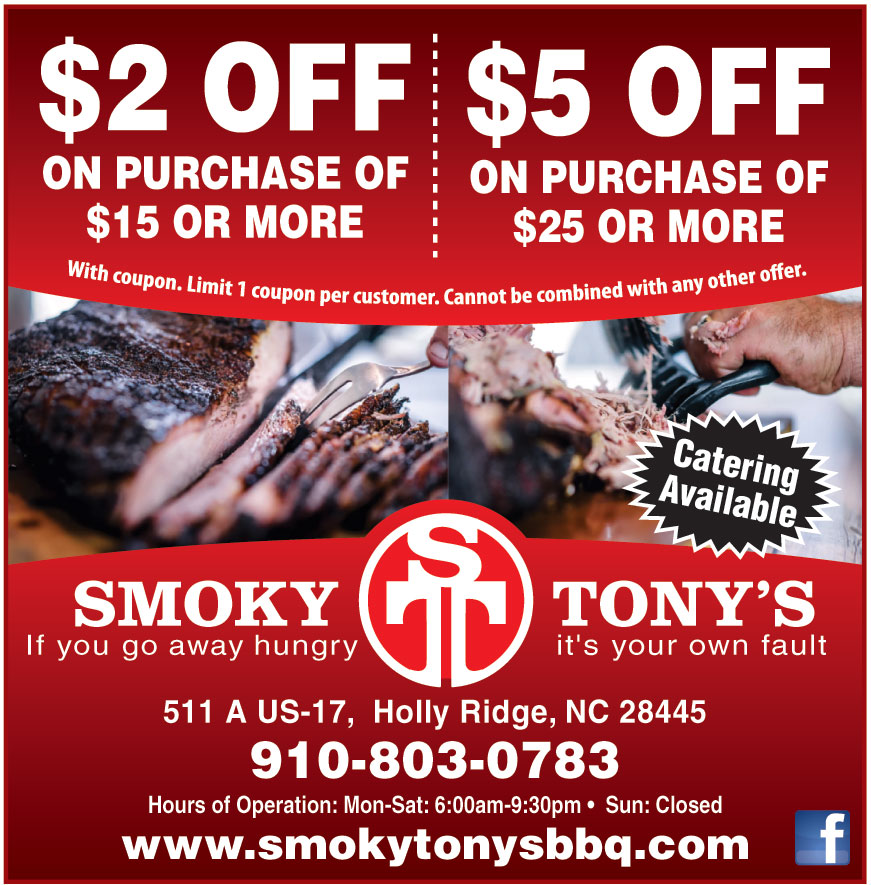 SMOKY TONYS COAST LLC