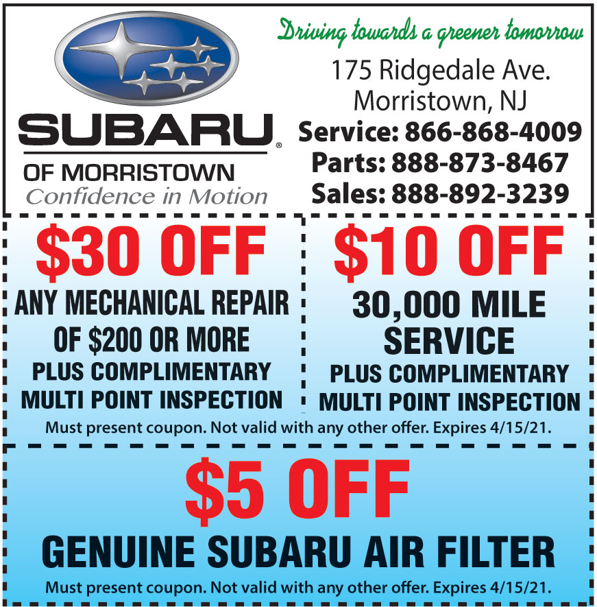 SUBARU OF MORRISTOWN