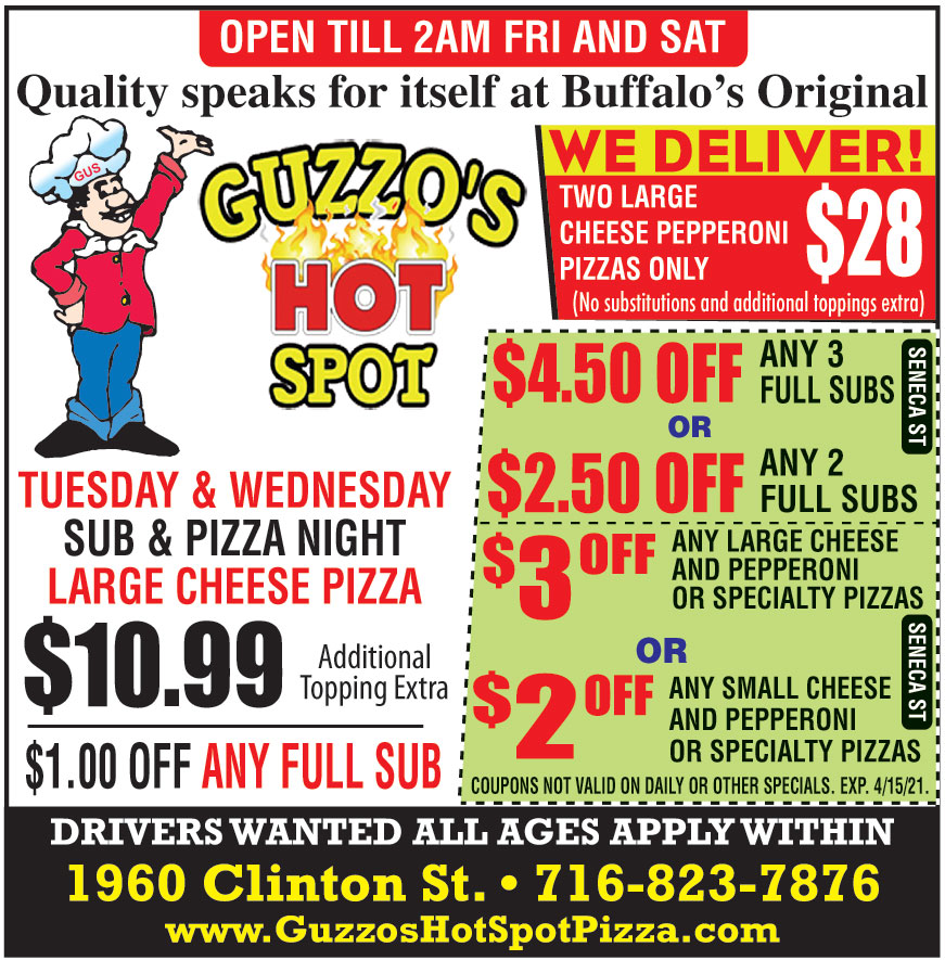 GUZZOS HOT SPOT