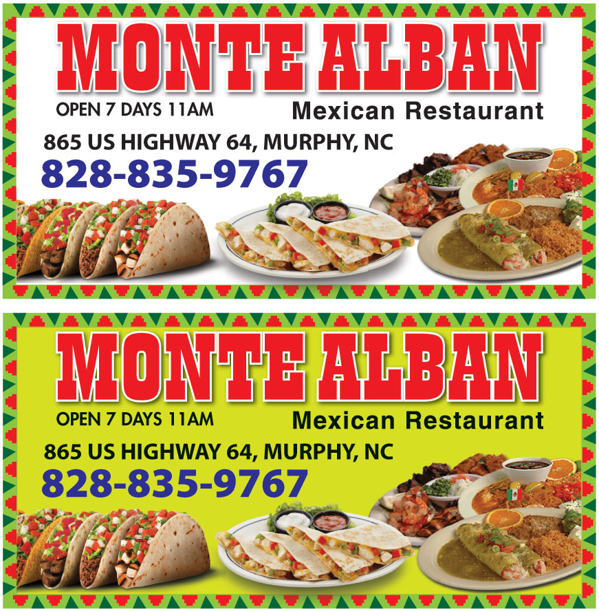 MONTE ALBAN MEXICAN FOOD
