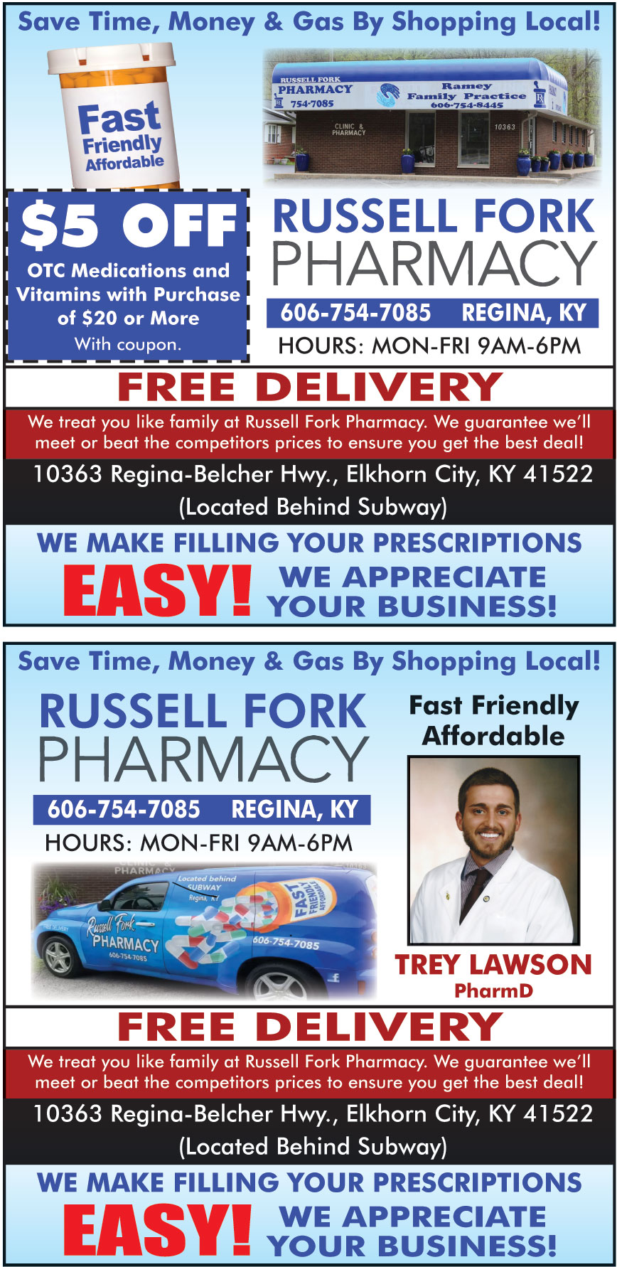RUSSELL FORK PHARMACY