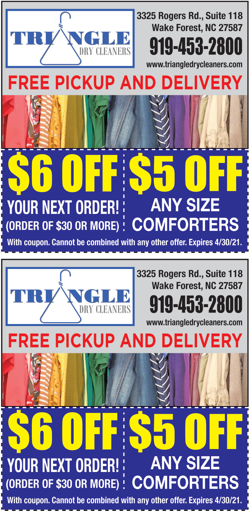 TRIANGLE DRY CLEANERS