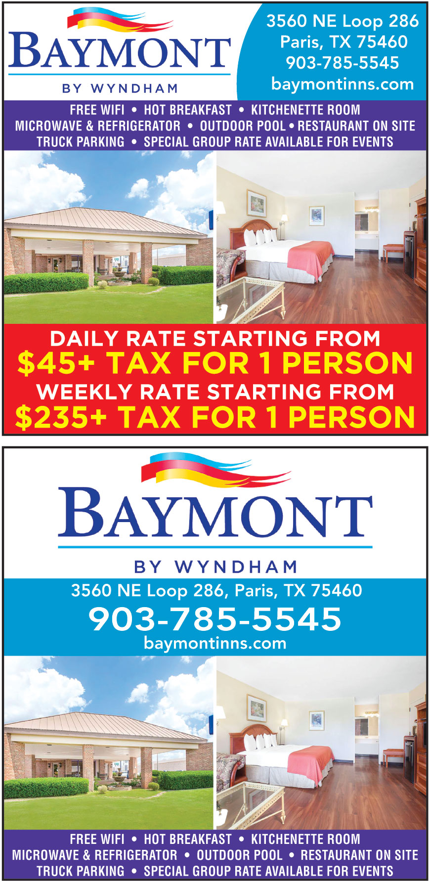 BAYMONT BY WYNDHAM PARIS