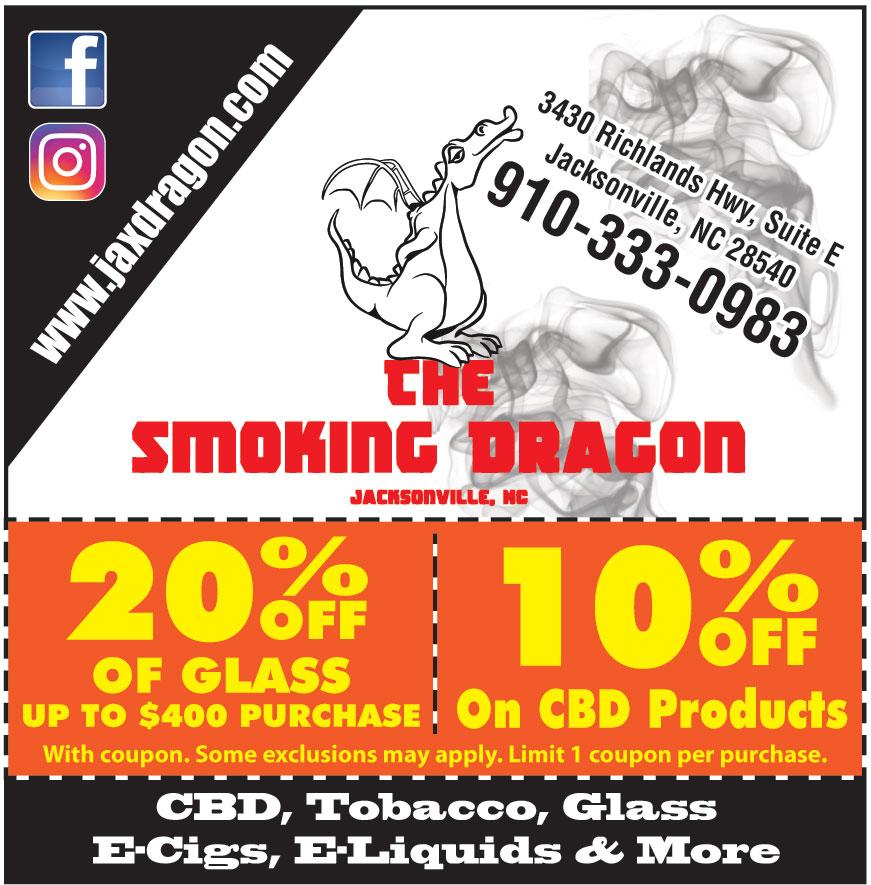 THE SMOKING DRAGON INC