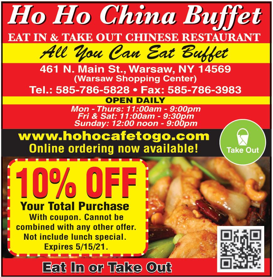 HO HO CHINA BUFFET