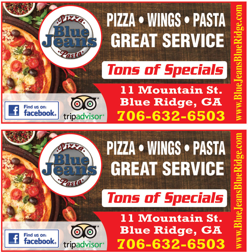 BLUE JEAN PIZZA