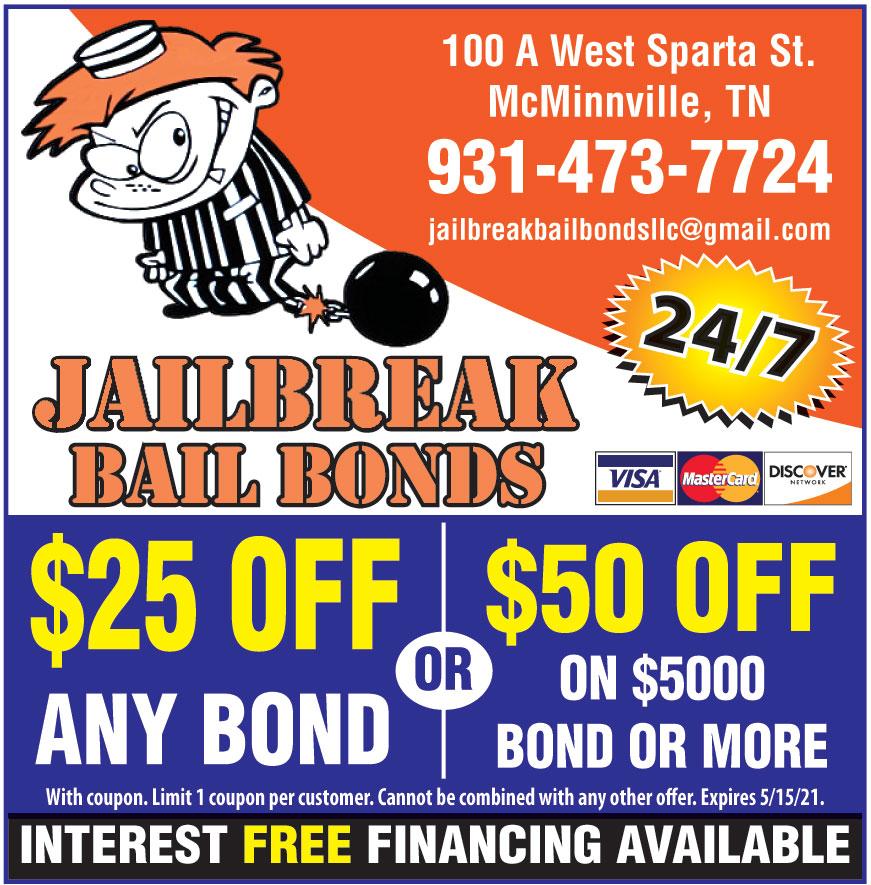 JAILBREAK BAIL BONDS LLC