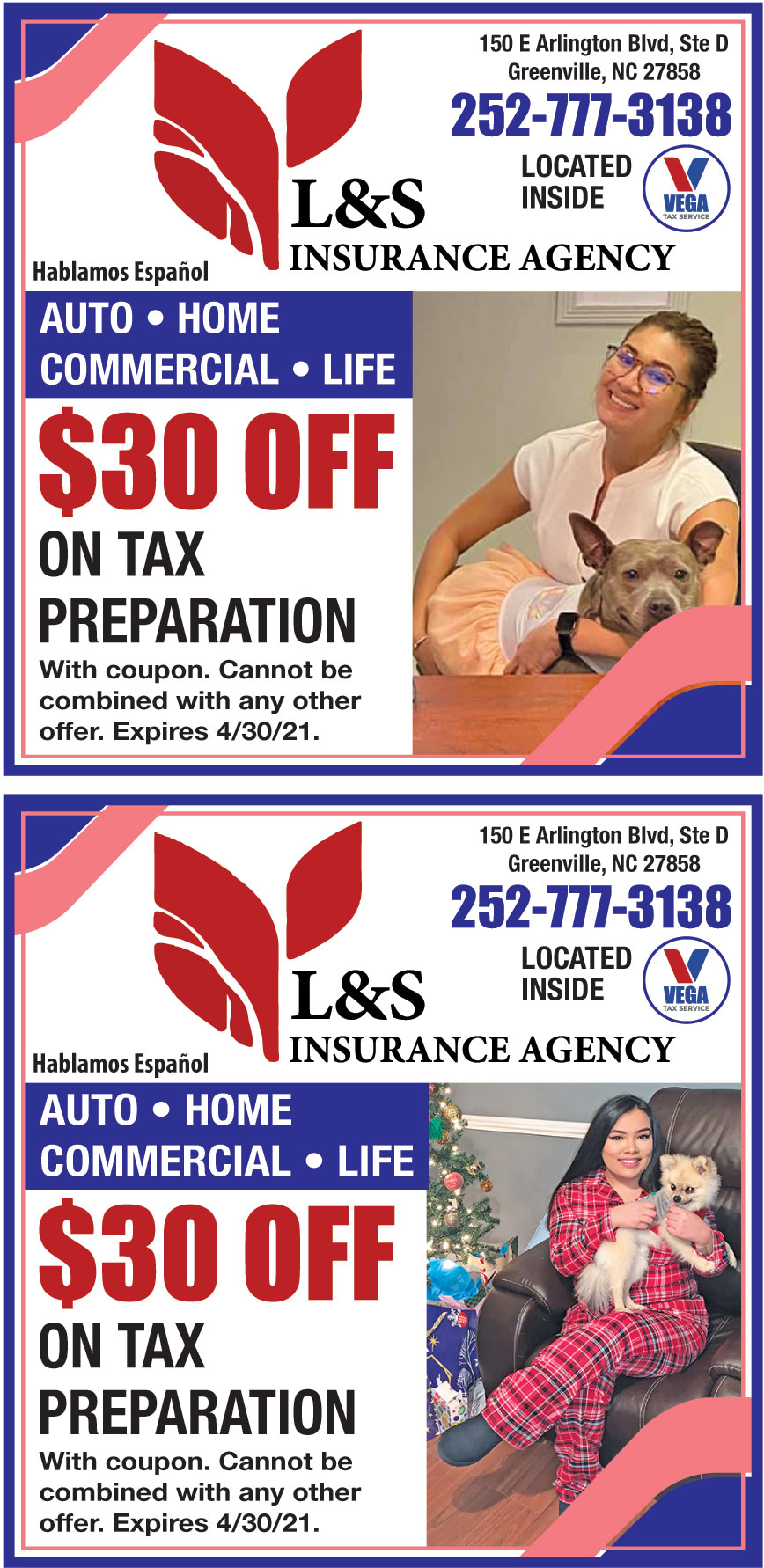 L AND S INSURANCE AGENCY